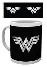 DC Comics Wonder Woman Monotone Logo Mug