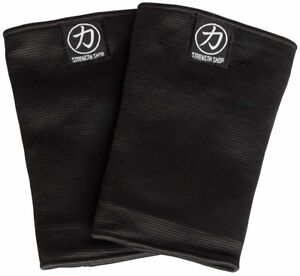 Strength Shop Odin Triple Ply Elbow Sleeves - Black - Strongman Powerlifting