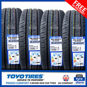New 195 65 15 TOYO PROXES COMFORT 91V 195/65R15 1956515 *C/A RATED* (2,4 TYRES)