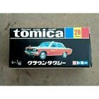 Tomica Toyota Crown Taxi Black Box from japan