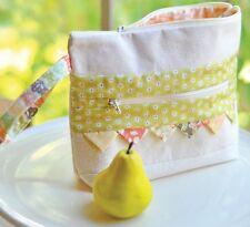 MIRABELLE Notions Bag PURSE KIT +BONUS of 2 More Patterns ! Moda Fabric Fig Tree