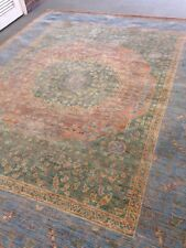6' X 9' Amazing Arts & Crafts Area Rug Hand Knotted Artisan Oushak Transitional