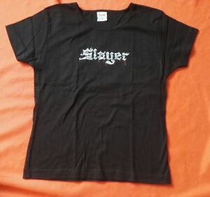 SLAYER Bloody Metal Logo Girlie Shirt Größe S oder L NEU - Thrash Metal