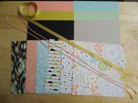 Stampin Up! SWEET SORBET 6 x 6 Designer Paper Card Kit RARE