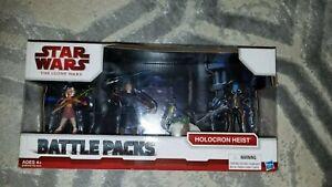 Brand NEW Star Wars The Clone Wars Battle Packs Holocron Heist