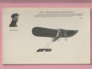 Aviation, French, Monoplan Bleriot Pilote M. Garros.