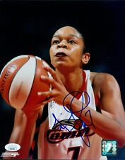 Tina Thompson Houston Comets Signed 8x10 Glossy Photo JSA Authenticated