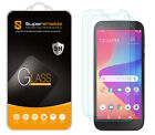 [2-Pack] Supershieldz Tempered Glass Screen Protector for BLU View 2 (B130DL)