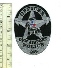 DFW (Dallas / Fort Worth) Airport TX Texas Police Officer patch - NEW!