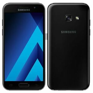 Samsung Galaxy A3 2017 16GB 13MP Locked EE 4G LTE Android Smartphone BLACK