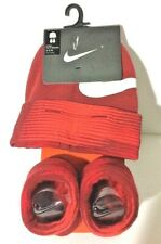 Brand New Set of 2 Pieces Nike Infant Hat & Booties 0-6 Months Old