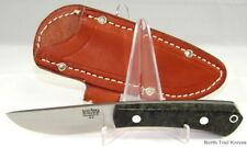 Bark River Knives Woodland Special, A-2, Dark Green Elder Burl, EDC, Field Knife