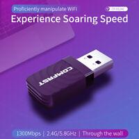 Adattatore   di rete compatto Dongle wireless USB 3.0 Dual Band 2.4G / 5.8G