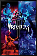 """TRIVIUM POSTER PRINT HEAVY METAL GROUP MUSIC LIVE ON STAGE 24""""X36"""" - NEW"""