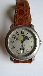 Boccia Titanium Uhr Mondphasen Uhr Saphirglas
