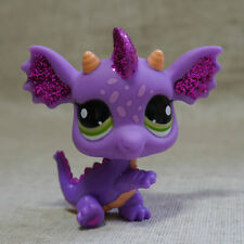 Purple Sparkle #2660  Dragon  LITTLEST PET SHOP LPS Action Figure Toy