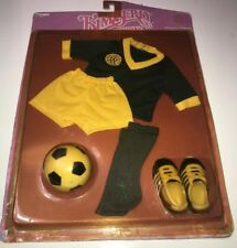 Vintage Kimberly Fashions Usa Soccer Outfit 1983 Tomy 2103 sealed on card