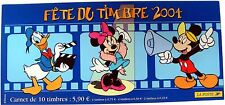 France Disney Stamps Booklet Of 10 - 2004 Mnh Mickey Mouse Donald Duck Minnie