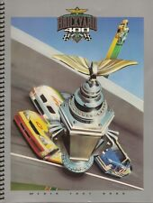 1999 Brickyard 400 Media Fact Book Media Guide Indy