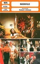 FICHE CINEMA : NASHVILLE - Black,Blakley,Carradine,Altman 1975