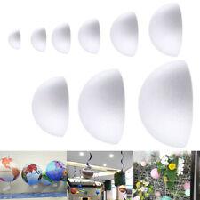 Polystyrene Styrofoam Half Ball Foam DIY Craft Party Celebration Decorations WY