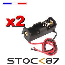 997H# 2 PCS Boitier Bloc Support pour Pile 12V 23A MN21 Battery Holder Case