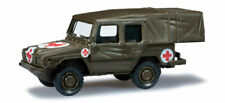 HERPA 700658 minitanks roco 447 Volkswagen Iltis croce rossa esercito H0 1:87