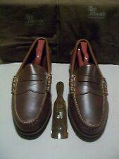New 1st Quality Allen Edmonds Gorham 9 B brown oil tanned leather