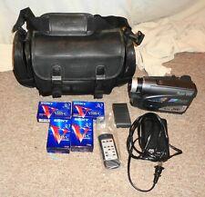 JVC GR-SX950U S-VHS-C Analog Camcorder Super VHSc Bundle Nice LOOK !!!!