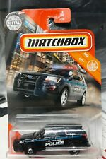 Matchbox 2016 Ford Interceptor Utility Police