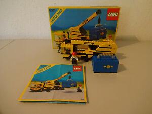 ( F15 ) Lego 6361 Autokran Mobilkran  Mit OVP & BA 100% Komplett Gebraucht