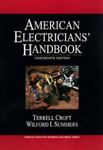 American Electricians' Handbook - Hardcover By Croft, Terrell - ACCEPTABLE