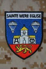écusson insigne patch blason Sainte Mère Église Normand Parachutiste John Steele