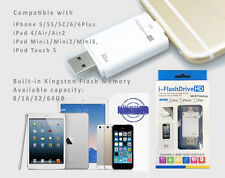 iPhone 6/7/8 Plus iPad Air Mini i-FlashDrive Udisk Storage Memory Kington 32GB