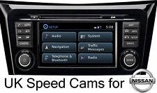 Nissan Connect Sat Nav 2021 Speed Cameras Alerts Juke Xtrail Qashqai Note Cams
