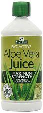 Aloe Pura Aloe Vera Juice Maximum Strength Juice 1 Litre (Pack of 12)