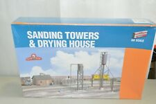 HO building structure KIT Walthers Locomotive Sanding Towers & Drying House