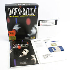 "D/Generation for IBM PC 3.5"" / 5.25"" in Big Box by Mindscape, 1991, VGC, CIB"