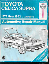 Toyota Celica Supra 1979 Thru 1992 Haynes Auto Repair Manuial N0. 92025 (1139)