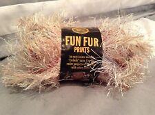 Lion Brand Yarn Fun Fur Prints Skein 1.75oz 57 Yards Variety Random