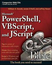 Microsoft PowerShell, VBScript and JScript Bible, Computer Science, Computers, T