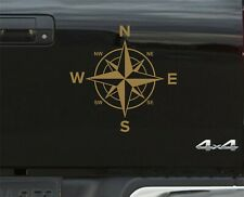 Gold Compass Navigation STICKERS DECAL GRAPHICS DEFENDER DISCOVERY RANGE ROVER