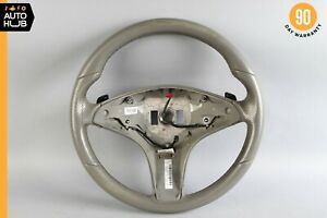 10-11 Mercedes W207 E350 Coupe E550 Driving Steering Wheel Gray OEM