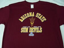 ARIZONA STATE SUN DEVILS - NCAA/FBS/PAC 12 - CACTUS BOWL - XL SIZE T SHIRT!
