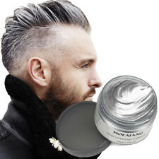 Professional Silver Grey Hair Wax Pomades Natural Hairstyle Styling Cream #S4