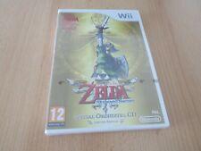 Zelda Skyward Sword Wii Limited Edition (new sealed) pal version  slight tear