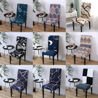 Nordic Style Print Chair Covers Home Dining Multifunctional Spandex Chair Cover