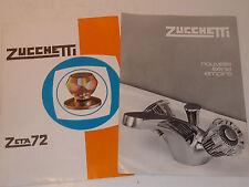 PUBLICITE ancien VINTAGE robinet ZUCCHETTI empire ZETA 72 salle de bain GOZZANO