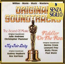 ORIGINALS SOUNDTRACKS BOX 4 LP NUOVO (MY FAIR LADY-THE SOUND OF MUSIC-FIDDLER..)