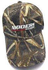 MODERN MACHINERY real-tree camouflage adjustable cap / hat